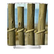 Between Lines Shower Curtain