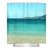 Between Nevis And St Kitts Shower Curtain