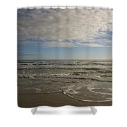 Between Night And Day Shower Curtain