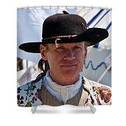 Between Skirmishes 6674 Shower Curtain