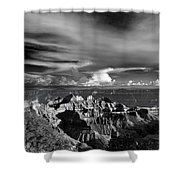 Between Storms Shower Curtain