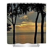 Beulah Sunset Shower Curtain