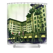 Beverly Hills Rodeo Drive 4 Shower Curtain