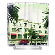 Beverly Hills Rodeo Drive 5 Shower Curtain