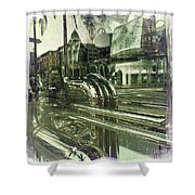 Beverly Hills Rodeo Drive 8 Shower Curtain