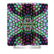 Bewitched Pattern Three Shower Curtain
