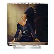 Beyonce - Family Feud 1 Shower Curtain