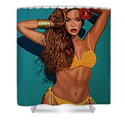 Beyonce 2 Shower Curtain