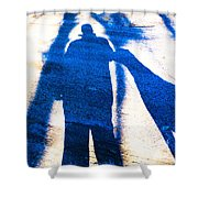 Beyond A Shadow 1 Shower Curtain