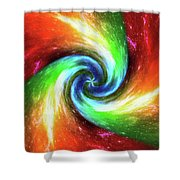 Beyond Infinity . . .   Shower Curtain