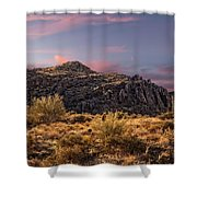 Beyond Inspiration Point Shower Curtain