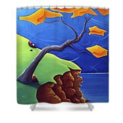 Beyond Limitations Shower Curtain