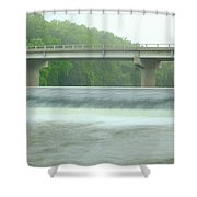 Beyond Otranto Dam Shower Curtain