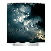 Beyond The Electric Fence Shower Curtain