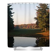 Beyond The Gardens Shower Curtain