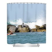 Beyond The Jetty Shower Curtain