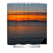 Beyond The Shore Shower Curtain