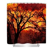Beyond The Sunset  Shower Curtain