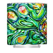 Beyond The Unknown - Left Shower Curtain