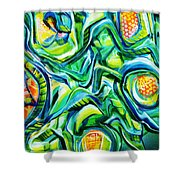 Beyond The Unknown - Right Shower Curtain