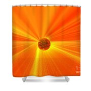 Beyond Wisdom Shower Curtain