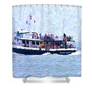Bhi Ferry Shower Curtain