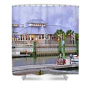 Bhi Marina Purple Hue Evening Shower Curtain