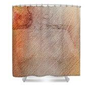 Bianca Chantilly  Shower Curtain