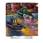 Biarritz 13 Bis Shower Curtain