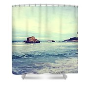 Arcachon Shower Curtain