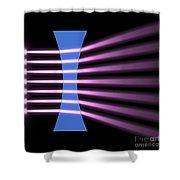 Biconcave Lens 2 Shower Curtain