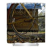 Bicycle At Micanopy Shower Curtain