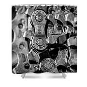 Bicycle Gears Shower Curtain