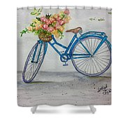 Bicycle I Shower Curtain
