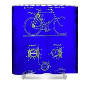 Bicycle Patent Drawing 4b Shower Curtain