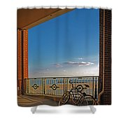 Bicycles Resting Shower Curtain