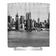 Big Apple Skyline Shower Curtain
