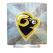 Big Bad St. Louis Rams Shower Curtain
