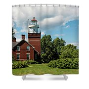 Big Bay Point Lighthouse Shower Curtain