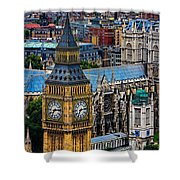 Big Ben And Westminster Abbey Shower Curtain