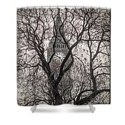 Big Ben From The Square Shower Curtain