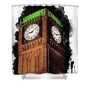 Big Ben In London Shower Curtain