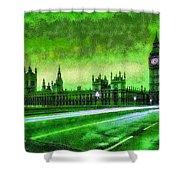 Big Ben London - Da Shower Curtain
