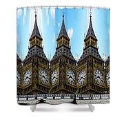Big Ben Time Shower Curtain
