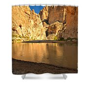 Big Bend Boquillas Canyon Shower Curtain
