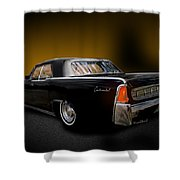 Big Black Lincoln Rag Top Shower Curtain