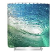 Big Blue Eye Shower Curtain