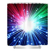 Big Boom Shower Curtain