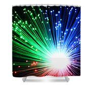 Big Boom II Shower Curtain