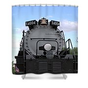 Big Boy Front Shower Curtain